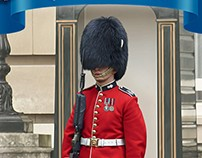British grenadier ( box art for ICM )