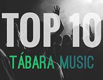 TÁBARA MUSIC - TOP 10