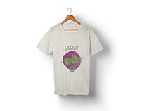 Cypriot flora based t-shirt design.