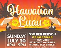Hawaiian Luau Poster