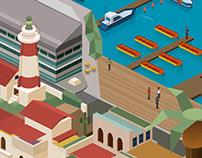 Jaffa Port Interactive Map