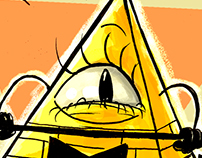 Bill Cipher Fanart