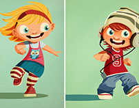 Childrens Character design