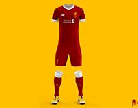 Livrpool FC. - 16/17 Kits