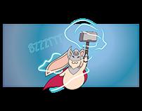 Bunny Thor Comic
