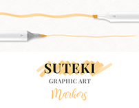 Suteki - Graphic Art Markers for Photoshop