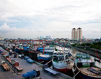 The Harbor Of Sunda Kelapa