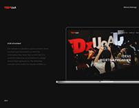 TEDxUoA   Website Redesign