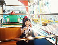 小さい頃/遊樂園