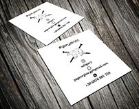 Business card for garyknitz