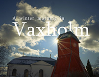 A winter morning in Vaxholm