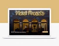 Hotel Arcade Wuppertal Website