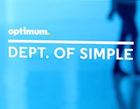 Optimum: Department of Simple