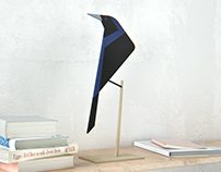 Tordo / Austral blackbird - spatial decor