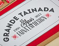 """Grande Tainada de Design"" Poster"