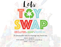 Toy Swap event poster