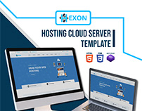 HEXON-WHMCS Hosting Cloud Server Template