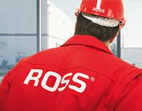 ROSS: corporate design, prints