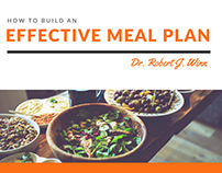 How to Build an Effective Meal Plan