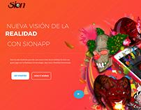 Sion App Website