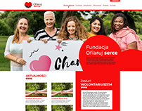Charity agency page