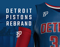 Detroit Pistons Rebrand