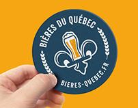 Bières du Québec (Brand et Webdesign)