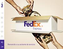 FedEx - App Asistente de servicios / UX/UI design