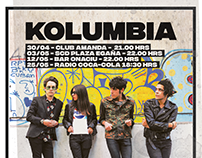 Kolumbia Poster Evento