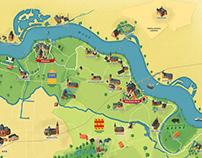 Country Map - Vrijstaat Land van Ravenstein