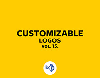Customizable logos vol. 15.