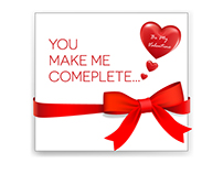 Beautiful Valentine's Day Card Vector Free Download