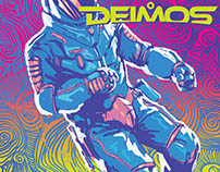 "SciFi illustrations for ""DEIMOS"" magazine"