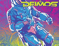 "SciFi illustrations for ""DEIMOS"" magazine"