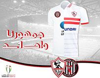 Zamalek sc & Al Jazzera fc - Partnership Campaign