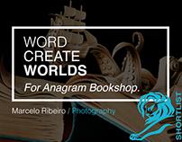 Word Create Worlds (Anagram Bookshop)