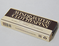 Wind and Water Clothespins Packaging