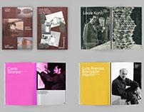 Kahn, Scarpa & Barragán – Architecture book