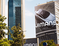 Vimans Car Rental Brand