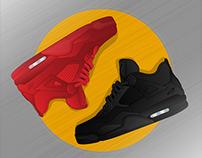Jordan Red & Black