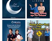 Cebuana Lhuillier FB posts (2016)