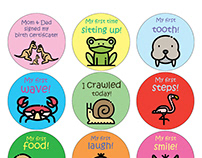 Stickers for New Parent Clients
