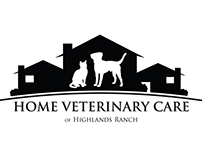 Home Veterinary Care of Highlands Ranch - Logo Design