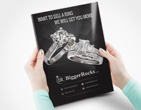 Flyer Design for a Jewelry Shop