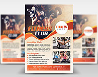 Fitness Club Flyer