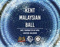 Kent Malaysian Ball Poster