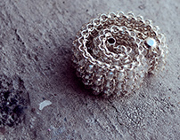 Exclusive handmade jewelry. Website and photo design.
