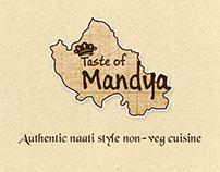 Taste of Mandya - Restaurant Branding
