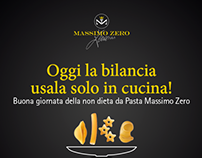 Pasta Massimo Zero | Social Media Ads