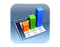 2009: Numbers for iPad
